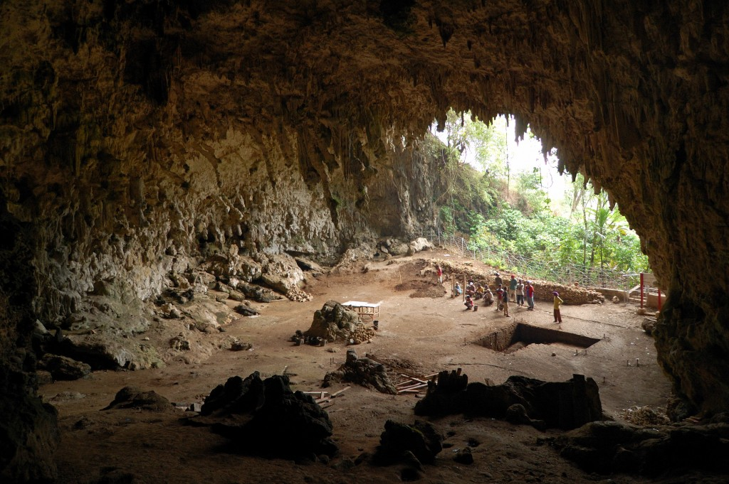 The cave at Liang Bua. By Rosino - [1], CC BY-SA 2.0, https://commons.wikimedia.org/w/index.php?curid=4567792